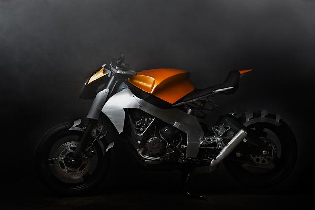 Ian McElroy's CBR1000F custom…