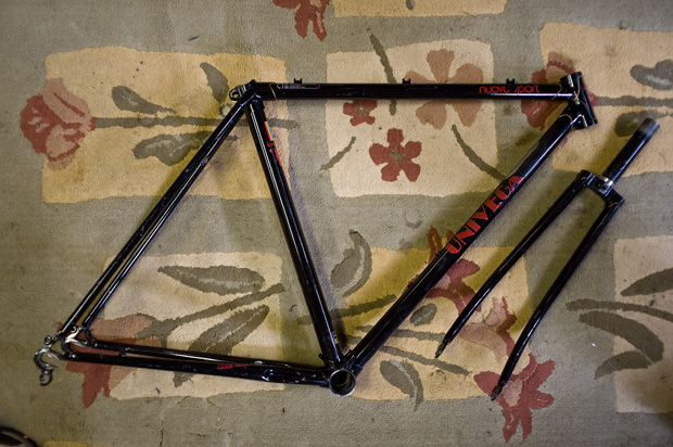 "building up a ""mini"" bike ;) Univega Nuovo Sport…"