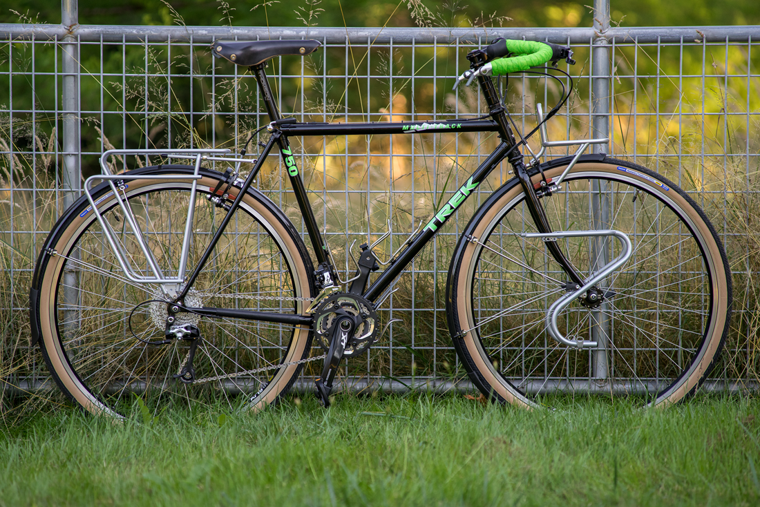 nearly a year later, Trek 750 Multitrack…