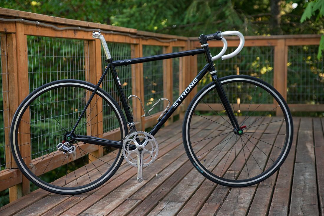new project, Strong Custom Blend Steel Racing bike…