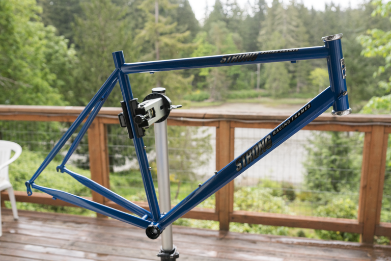 a new Carl Strong Foco Racing Frame…